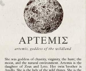 artemis, aesthetic, and mythology image