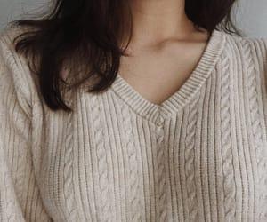 beige, collarbones, and comfy image