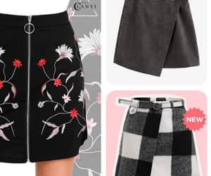clothes, miniskirt, and fashion image
