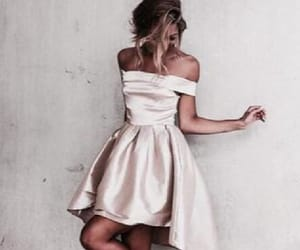 cute party dress and high low party dress image