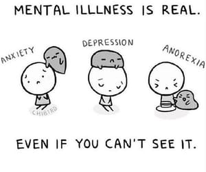 anorexia, depression, and anxiety image
