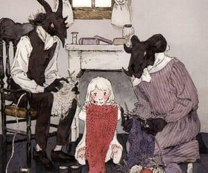 Devil, goth, and illustration image