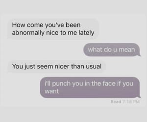 best friend, mean, and texting image