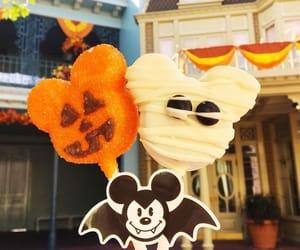 disneyland, Halloween, and mickey image