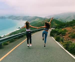 besties, bff, and friendship goals image