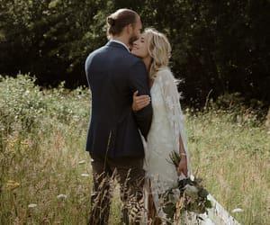 couple, dress, and groom image