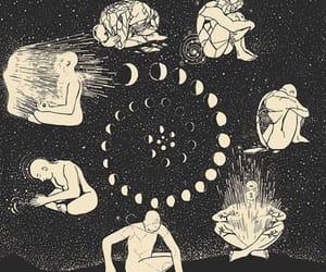 chakras, hippie, and luna image