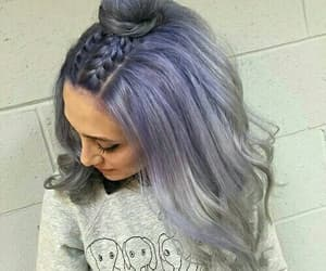 aesthetic, blue hair, and fashion image