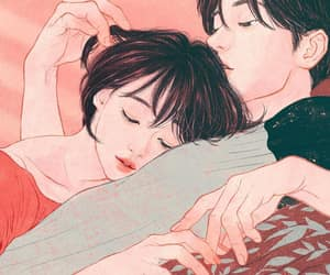 couples, manhwa, and korean comics image