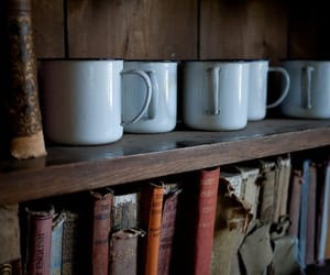books, classic, and mugs image