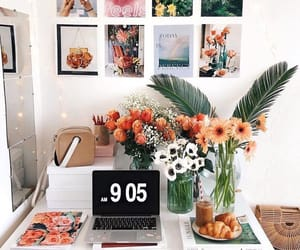 flowers, college, and decor image