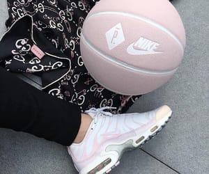 pink, fashion, and nike image