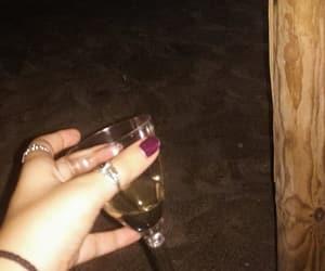 beach, nails, and night image