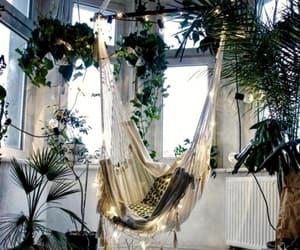 beautiful, home, and hammock image