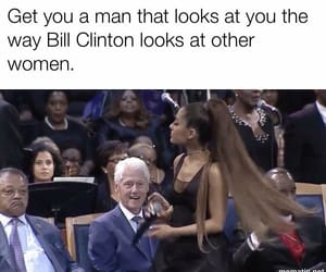 bill clinton, funeral, and Hillary Clinton image