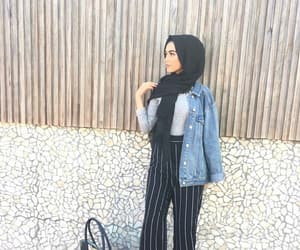 hijab, style, and ستايل image