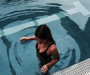 bikini, water, and girl image