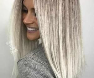 blond, hair, and cute image
