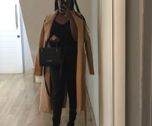 black, bombshell, and outfit image