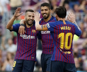 Barca, Barcelona, and boys image