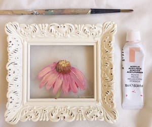 art, artsy, and flower image