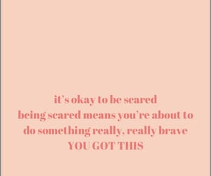 believe, brave, and motivation image