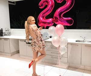 22, birthday, and birthday balloons image