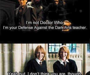dr. who and harry potter image