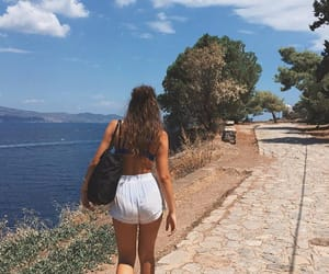 destination, summer, and Greece image