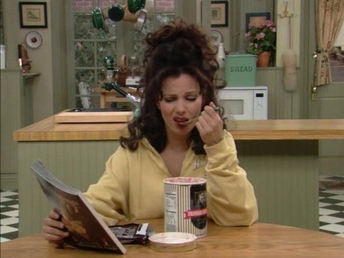 the nanny and 90s image