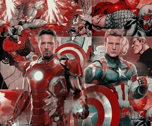 aesthetic, captain america, and civil war image