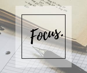 focus, math, and school image