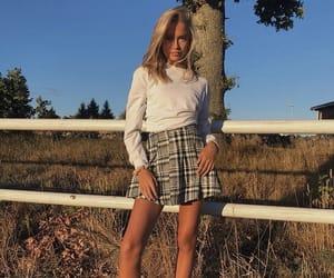 fall fashion, plaid, and style image
