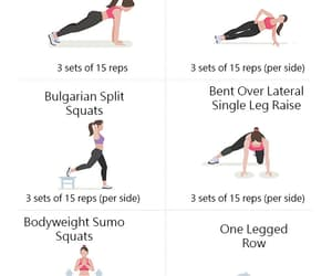 fit, poses, and yoga image