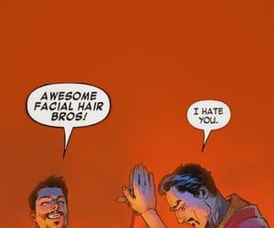 iron man, Marvel, and doctor strange image