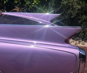 car, old, and purple image