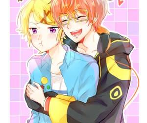 kawaii, boy x boy, and anime boy image