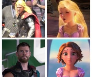 funny, thor, and marvel universe image