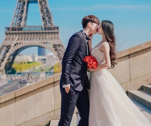 couple, fashion, and france image