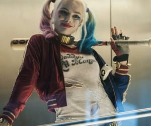 DC, margot robbie, and harley quinn image