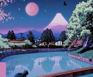 pixel, wallpaper, and vaporwave image