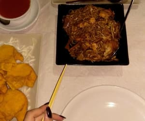 chinese, chopsticks, and food image