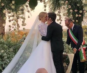 chiara ferragni, wedding, and fedez image