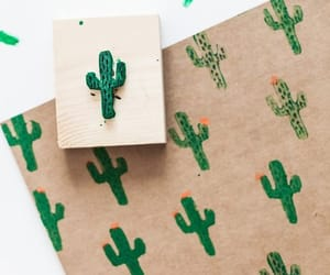 cactus, diy, and notebook cover image