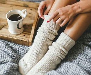cozy, winter, and socks image
