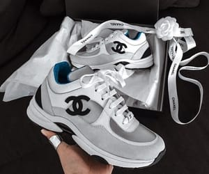 chanel, sneakers, and fashion image