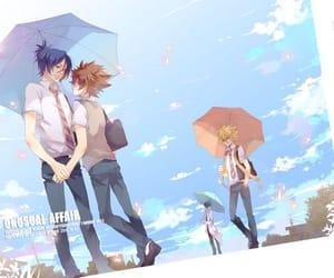 anime, katekyo hitman reborn, and giotto (khr) image