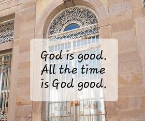 door, faith, and god image