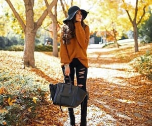 article, autumn, and boots image
