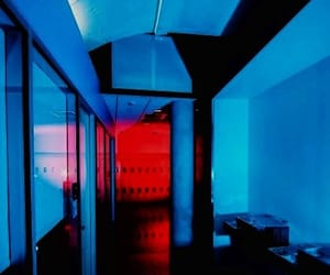 light, red, and blue image